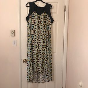 Calvin Klein Hi-low Maxi Dress